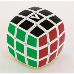 3x3 versenykocka, fehér, lekerekített, festett V-CUBE