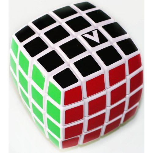 4X4 versenykocka, fehér, lekerekített, festett V-CUBE