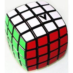 4x4 versenykocka, fekete, lekerekített V-CUBE