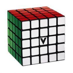 5X5 versenykocka, fekete, egyenes V-CUBE