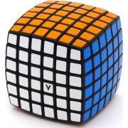 6x6 versenykocka, fekete, lekerekített V-CUBE