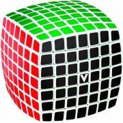 7x7 versenykocka, fehér, lekerekített V-CUBE