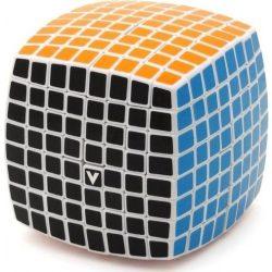 8x8 versenykocka, fehér, lekerekített V-CUBE
