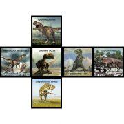 2x2 versenykocka, lekerekített, Dinoszaurusz V-CUBE