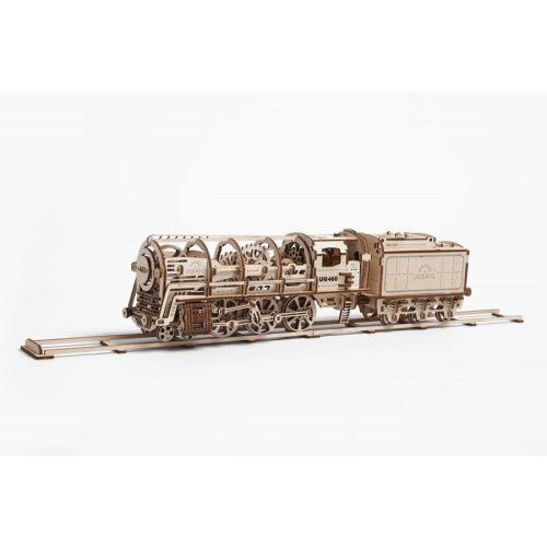 Gőzmozdony - mechanikus modell - Ugears