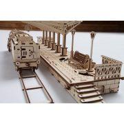 Vasútállomás - mechanikus modell - Ugears