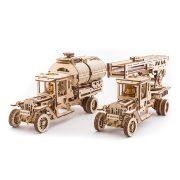 Teherautó alkatrészek - mechanikus modell - Ugears