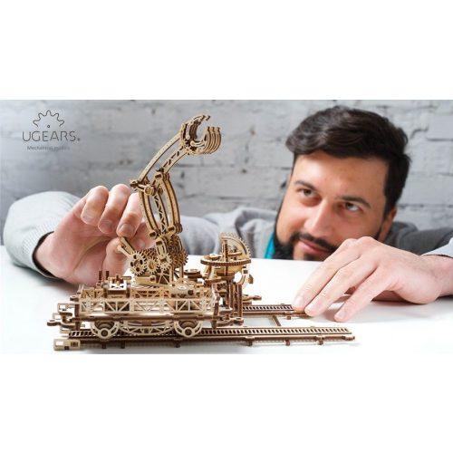 Ugears Vasúti Pályaudvar  - mechanikus modell