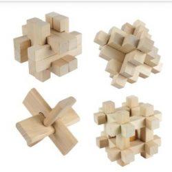 4-es Professor Puzzle fa ördöglakat szett