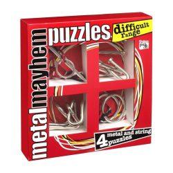 Fém ördöglakat szett Professor Puzzle