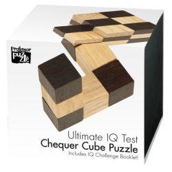 Chequer Cube fa logikai játék Professor Puzzle