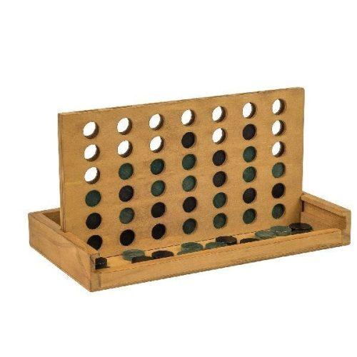 Négyet egy sorba fadobozos Professor Puzzle logikai játék