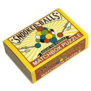 Snooker Balls Matchbox Professor Puzzle mini ördöglakat