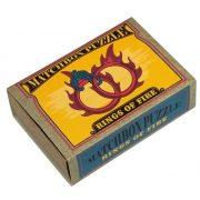 Rings of Fire Matchbox Professor Puzzle mini ördöglakat