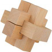 The Cross Matchbox Professor Puzzle mini ördöglakat