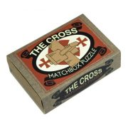 The Cross Matchbox Professor Puzzle mini ördöglakat