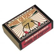 Wheel of Fortune Matchbox Professor Puzzle mini ördöglakat
