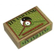 Yin and Yang Matchbox Professor Puzzle mini ördöglakat