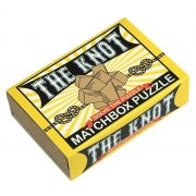 The Knot Matchbox Professor Puzzle mini ördöglakat