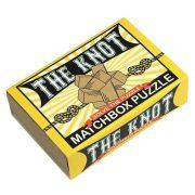 The Knot Matchbox Professor Puzzle mini ördöglakat