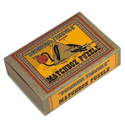 Bermuda Triangle Matchbox Professor Puzzle mini ördöglakat
