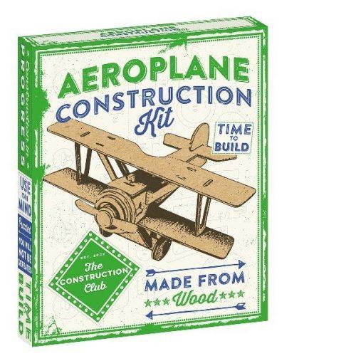 Repülőgép Professor Puzzle 3d fa puzzle
