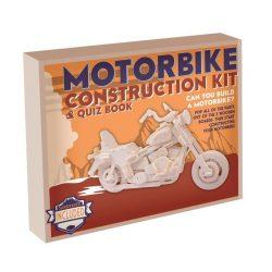 Motorbicikli Professor Puzzle 3d fa puzzle