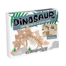 Stegosaurus Professor Puzzle 3d fa puzzle közepes
