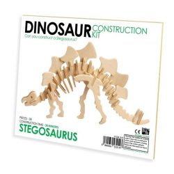Stegosaurus Professor Puzzle 3d fa puzzle standard