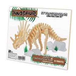 Styracosaurus Professor Puzzle 3d fa puzzle