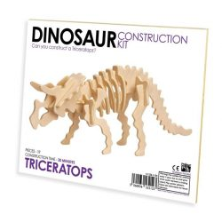 Triceratops Professor Puzzle 3d fa puzzle, standard
