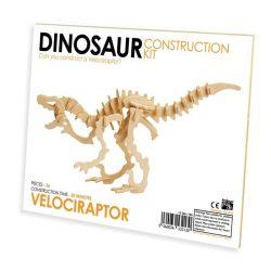 Velociraptor Professor Puzzle 3d fa puzzle, standard