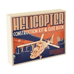 Helikopter Professor Puzzle 3d fa puzzle