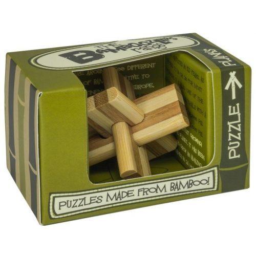 Planks bambusz Professor Puzzle bambusz ördöglakat - mini