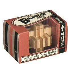 Cross bambusz Professor Puzzle bambusz ördöglakat - mini