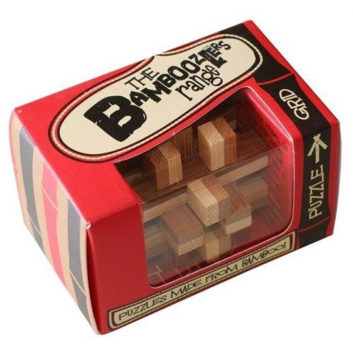 Grid bambusz Professor Puzzle bambusz ördöglakat - mini