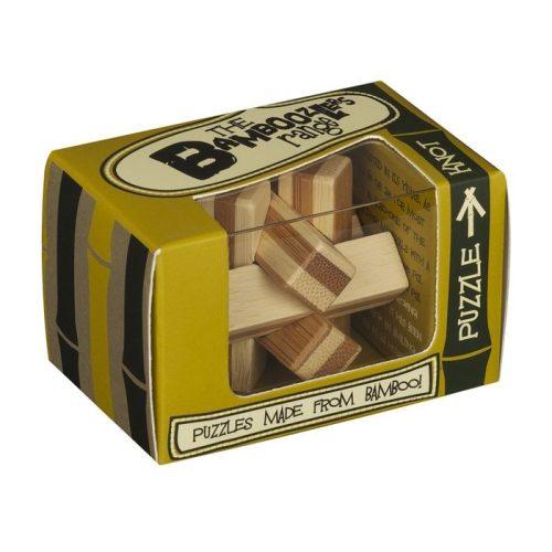 Knot bambusz Professor Puzzle bambusz ördöglakat - mini