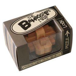 Lock bambusz Professor Puzzle bambusz ördöglakat - mini