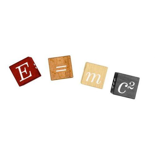 E=MC2 Einstein Professor Puzzle fa logikai játék