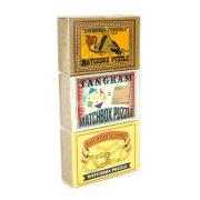 Matchbox hármas ördöglakat szett (The Bermuda Triangle, Tangram, The Horseshoe)