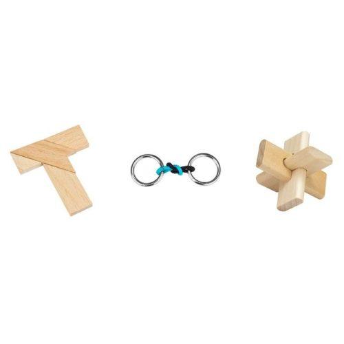 Matchbox hármas ördöglakat szett (The Cross, Rings of Fire, T-Time Puzzle)
