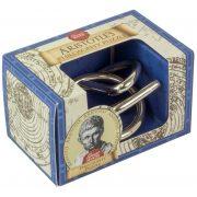 Arisztotelész Filozófia Great Minds Professor Puzzle fém ördöglakat mini