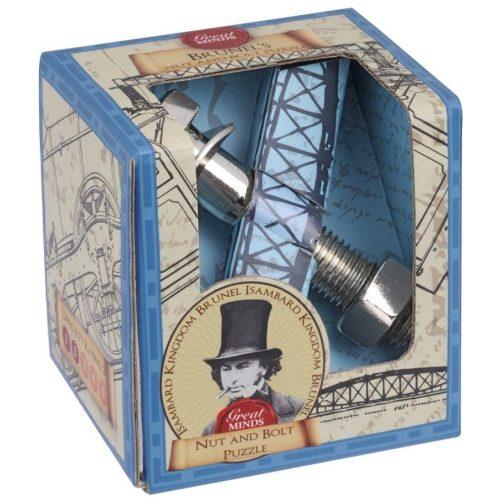 Brunel Anyacsavar Great Minds Professor Puzzle fém ördöglakat