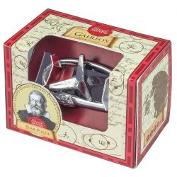 Galileo Csillag Great Minds Professor Puzzle fém ördöglakat