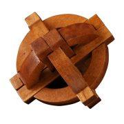 Galileo Földgolyó Great Minds Professor Puzzle fa ördöglakat