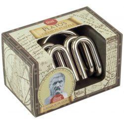 Platón Géniusz Great Minds Professor Puzzle fém ördöglakat mini