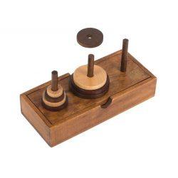 Hanoi tornya Grandmasters Professor Puzzle logikai játék
