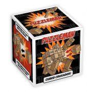Puzzleman  Professor Puzzle logikai játék, natúr
