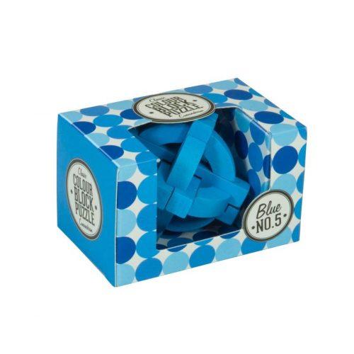 Blokk puzzle - kék Professor Puzzle ördöglakat