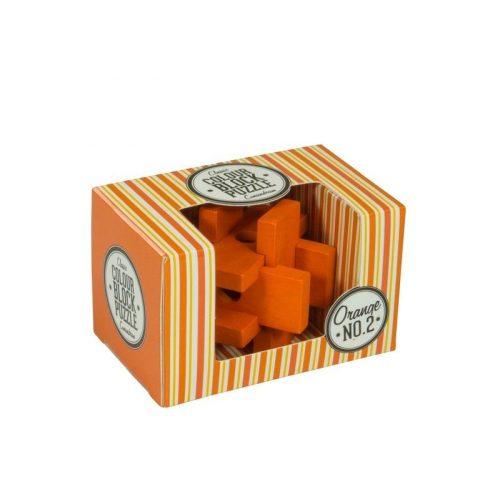 Blokk puzzle - narancs Professor Puzzle ördöglakat